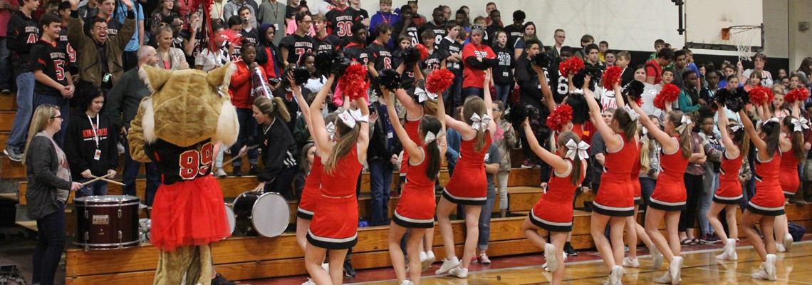 Pep-rally Kirbyville Vs. Buna